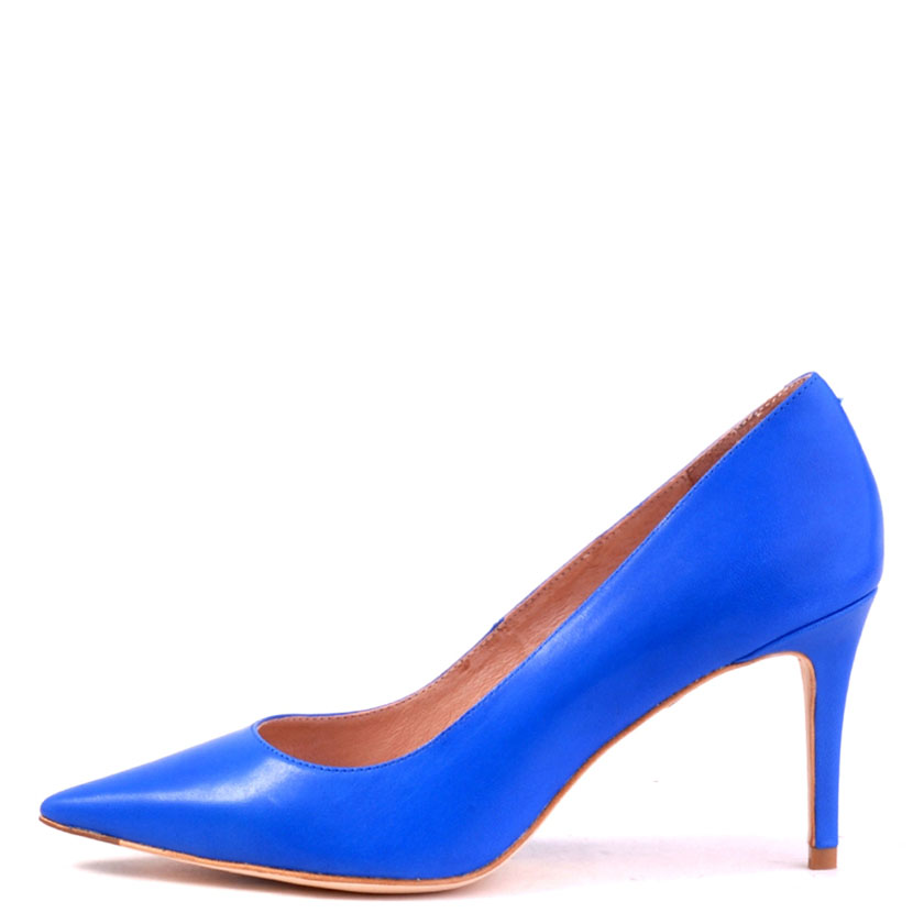 Bardot azure leather