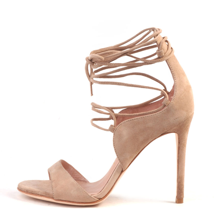 Easton nude suede