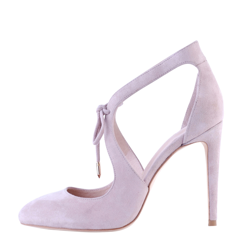 Raquel Rose Quartz Suede